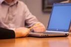 Laptop – Henson Efron offices Minneapolis