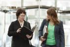 Melissa Nelson and Jennie Clark, Henson Efron attorneys
