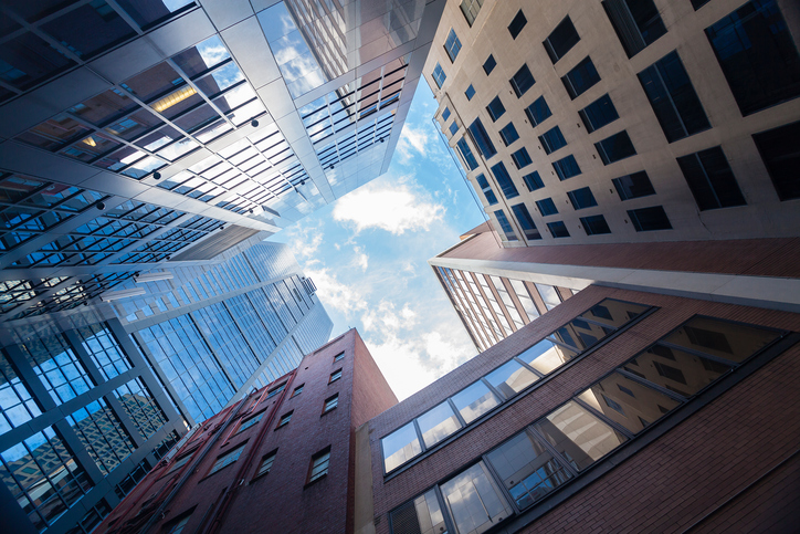 Sskyscrapers in city