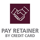 Pay Retainer by Credit Card