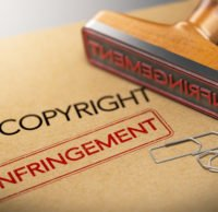 Intellectual Property Rights Concept, Copyright Infringement