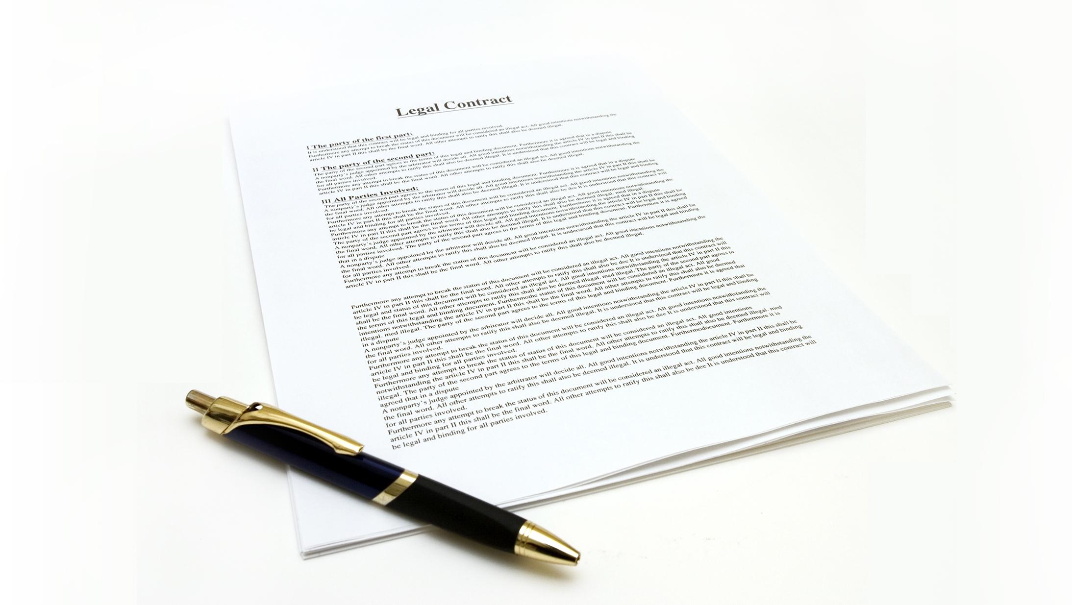 COVID-19 Legal Contract